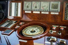 Капитанская рубка, фото 8 — теплоход «Ярослав Мудрый»