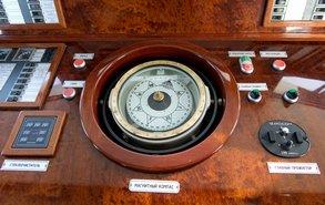 Капитанская рубка, фото 6 — теплоход «Ярослав Мудрый»