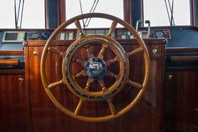 Капитанская рубка, фото 3 — теплоход «Ярослав Мудрый»